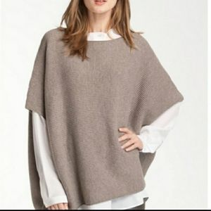Vince Sweater Poncho Wool Cashmere